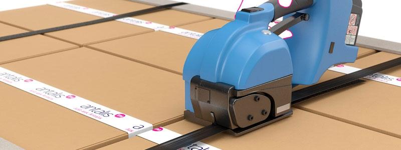 Emballage et Stockage-Dévidoir Manuel de Cerclage